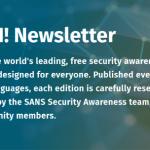 OUCH! Boletín Informativo de Seguridad Digital