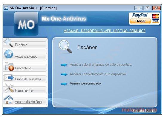 Monitor USB, Mx One USB Antivirus