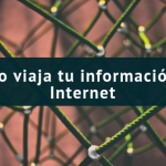 ¿Cómo viaja tu información en Internet?