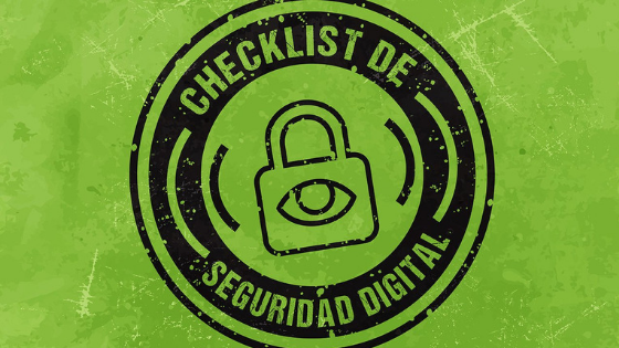Checklist de Seguridad Digital