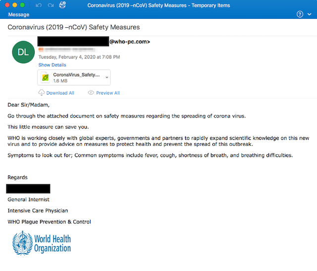 phishing-correo-covid-ejemplo