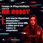 Consejos de seguridad digital de la serie Mr. Robot
