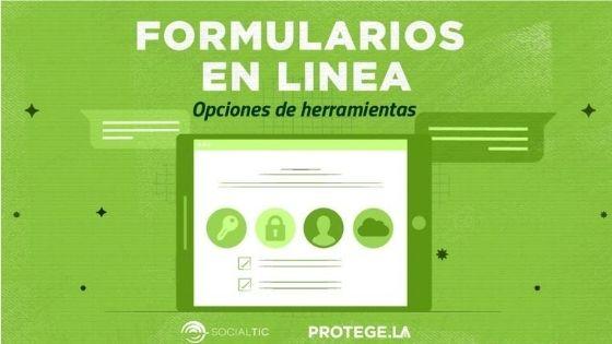 Formularios de registro en línea